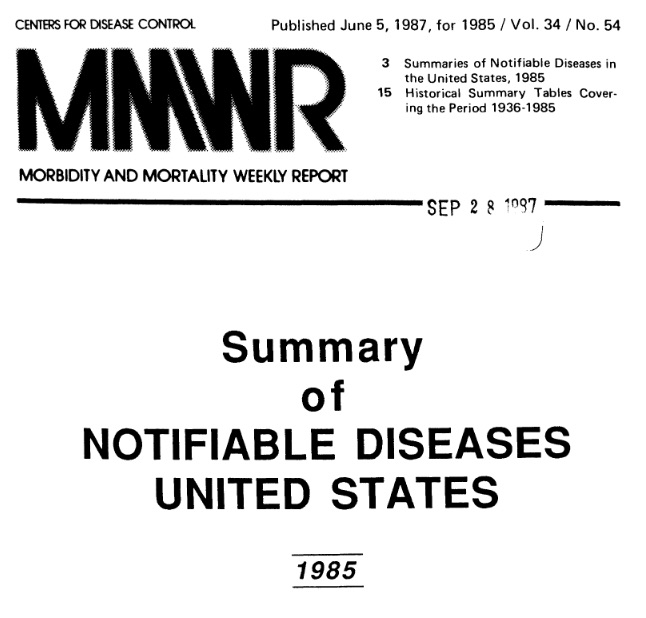Why Didn't Everyone Die with Our 1980s Level of Vaccination