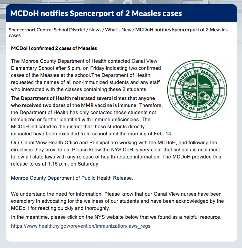 News on the Latest Measles Outbreaks of 2019 - VAXOPEDIA
